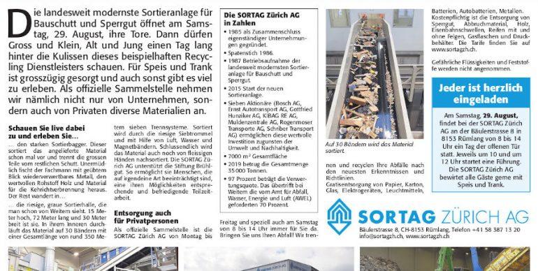 Sortag Zürich AG